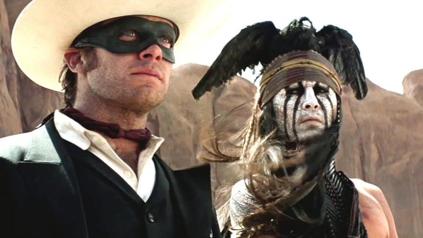 On Second Thought, Gore Verbinski's THE LONE RANGER (2013) is Good