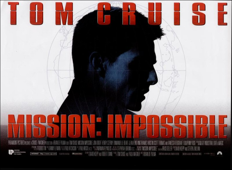Summer of '96: MISSION: IMPOSSIBLE, The Masterpiece of 90s SummerCinema